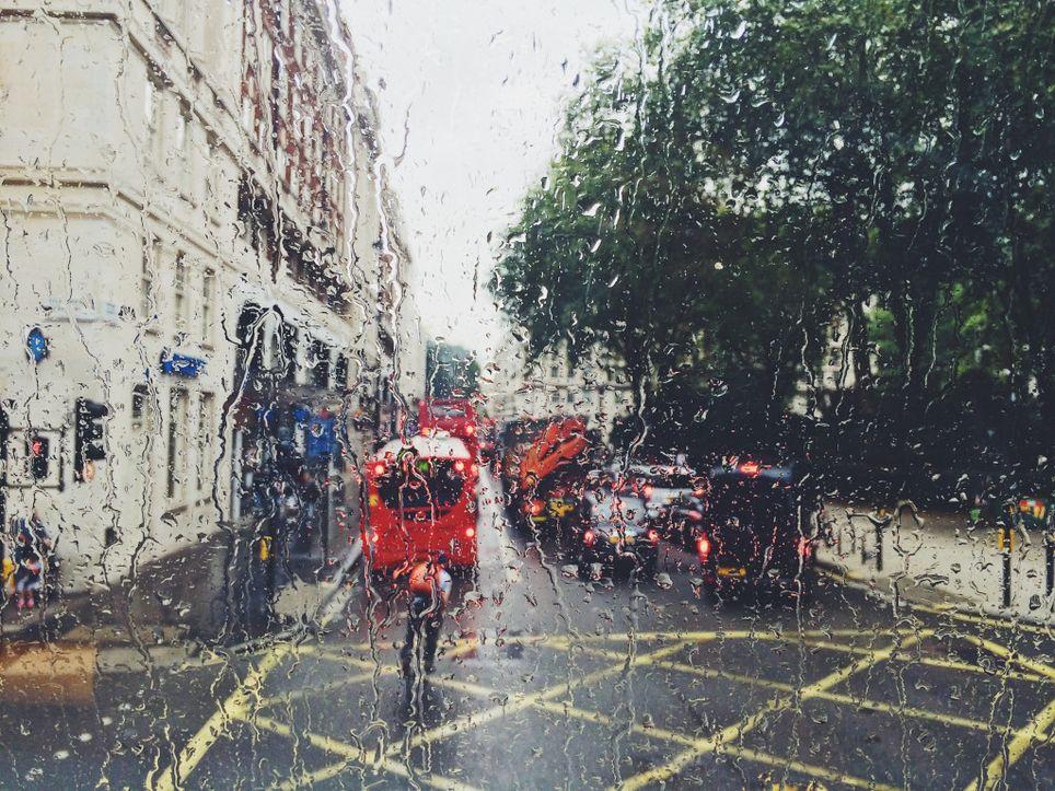 A damp weekend.