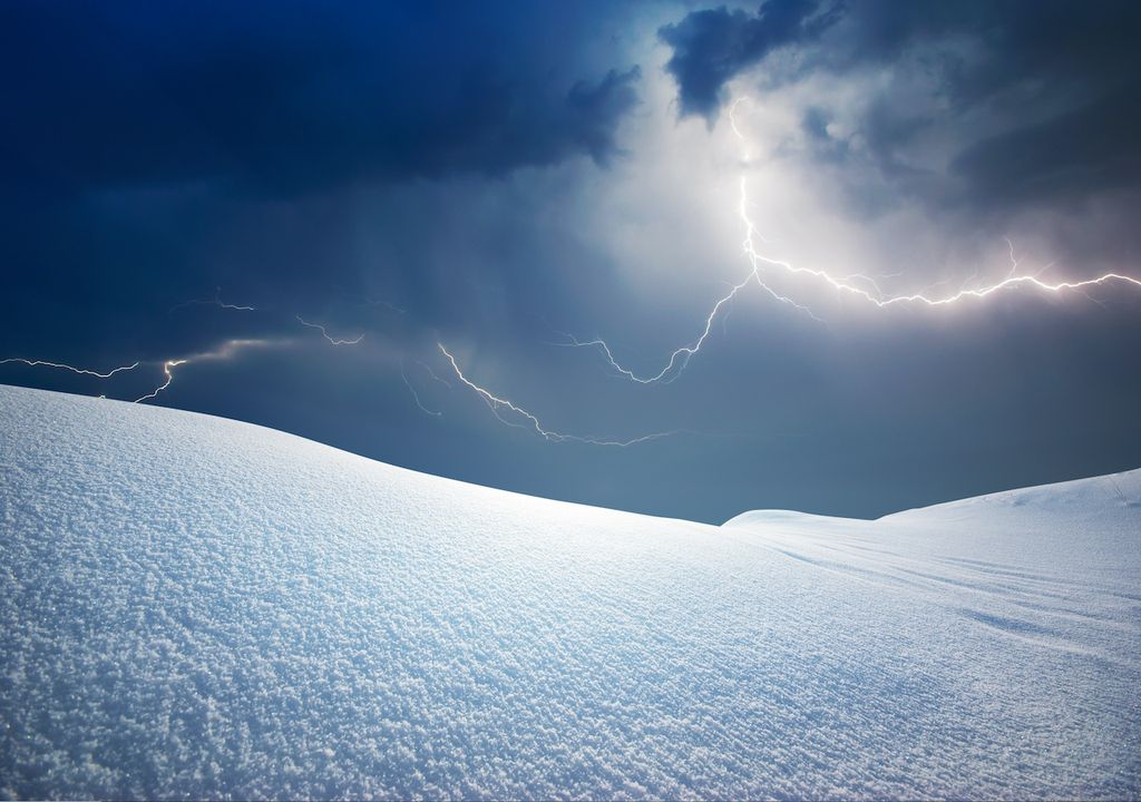 What is thundersnow.