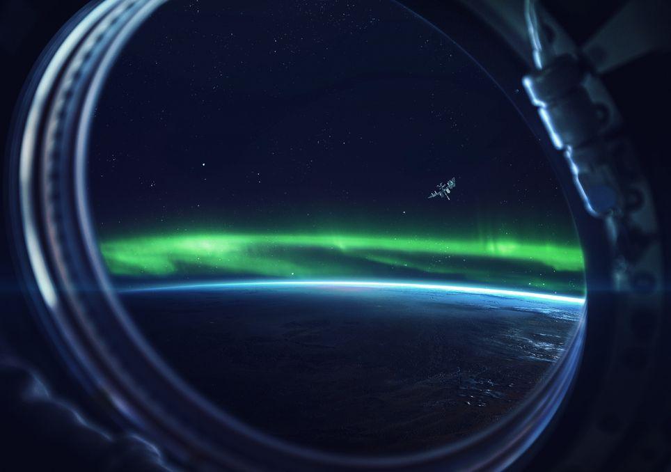 radiacion, solar, auroras, campo magnetico, protección, tierra, planeta, polo, divulgacion