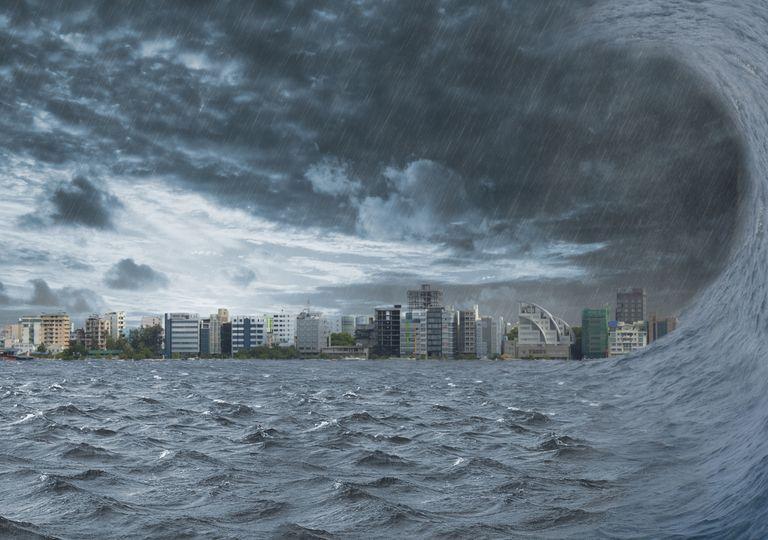 Onda de tsunami