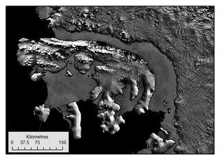Récord de deshielo en la plataforma antártica Jorge VI