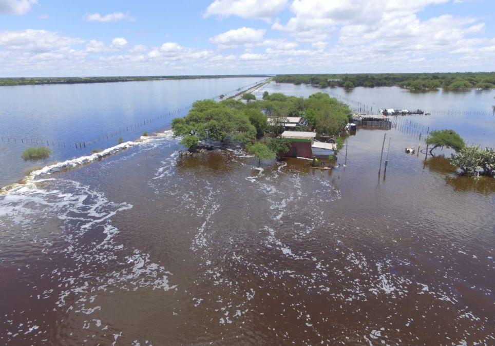 Inundaciones noreste Litoral Lluvias Santa Fe Corrientes Chaco