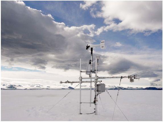 Record De Temperatura Más Alta En La Antátida