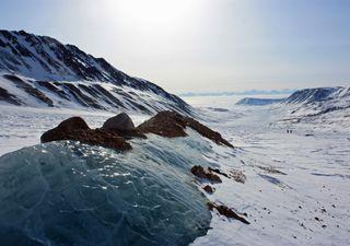 Año récord en reducción de la capa de hielo en Groenlandia