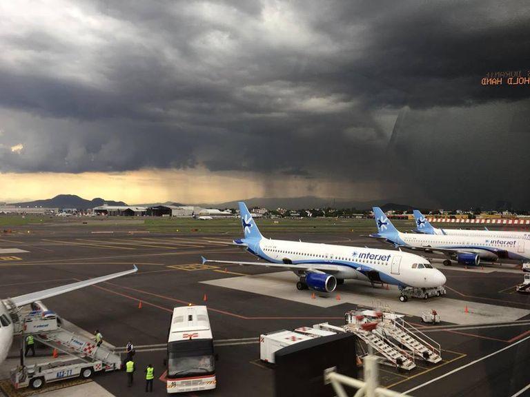 Aeropuerto CDMX. Fotografía : Rosa López