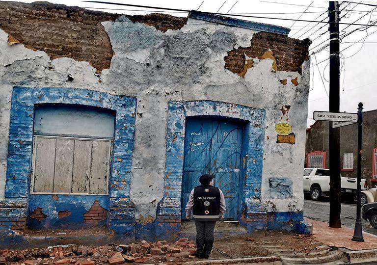 Tamaulipas, Coahuila y Nuevo León son los estados que más reportan daños tras el paso de Hanna. Fotografía: CENAPRED