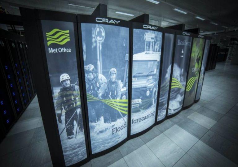 UK Met Office supercomputador