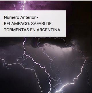RELAMPAGO: safari de tormentas en Argentina