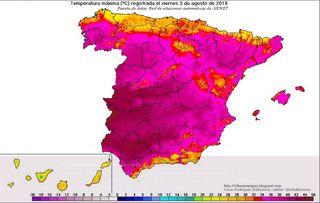 Remite la ola de calor en España