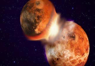 Restos de protoplaneta podrían estar enterrados en la Tierra