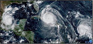 Resumen de la temporada de huracanes de 2017 en el Atlántico