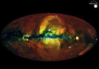 Revelan el nuevo mapa del universo en rayos X