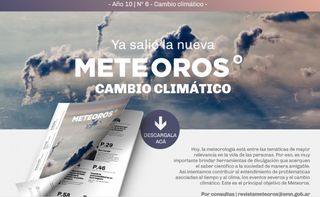 Revista Meteoros: Cambio Climático