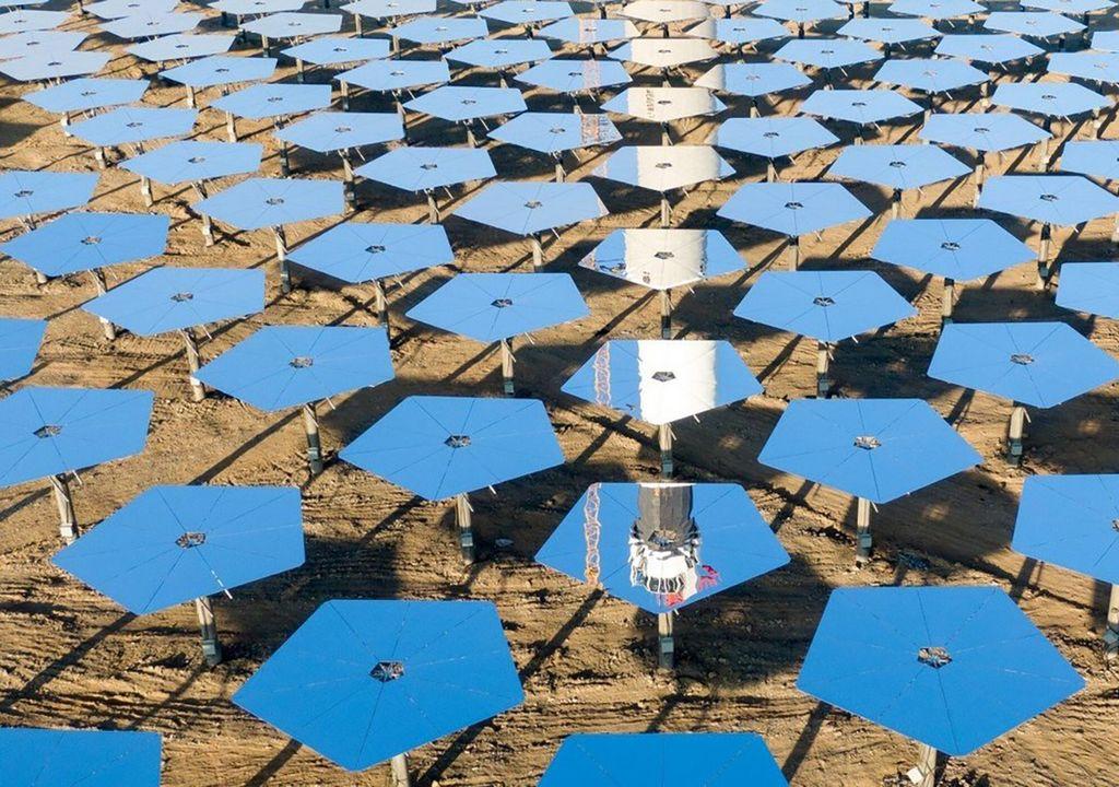 Planta de energía solar espacial