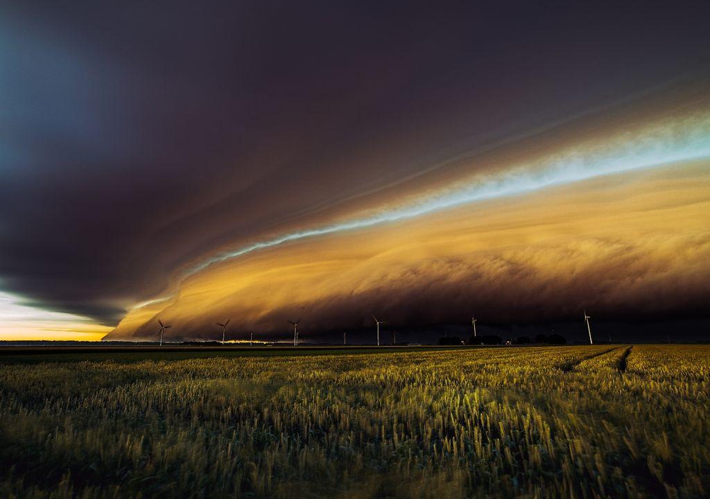 tormenta severa tornado litoral alerta