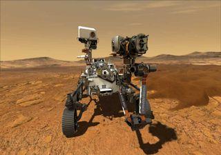 Rocas en un cráter de Marte muestran interacción sostenida con agua