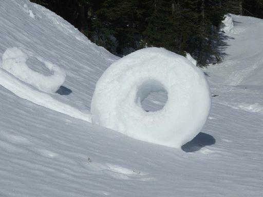 Rodillos de nieve