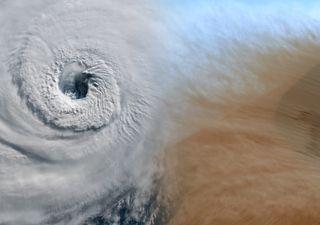 Kurios: Sahara-Staub bremst die Entwicklung von Hurrikans aus!