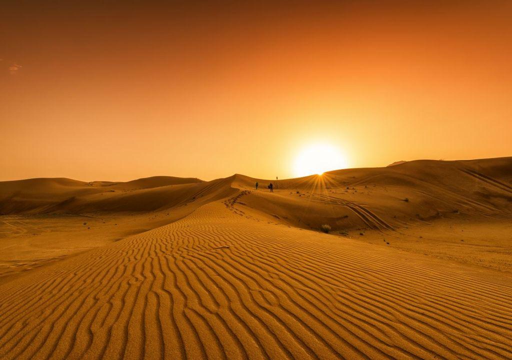 Sahara Hitze