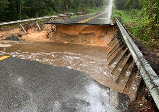 'Sally' se debilita tras causar importantes inundaciones