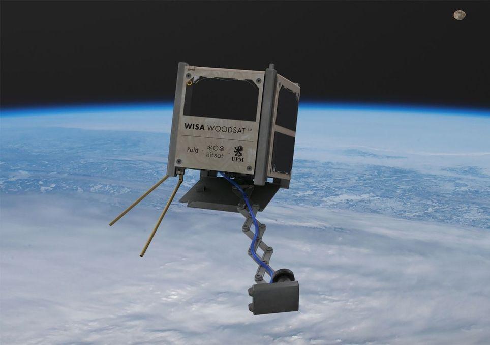 Kurios: Holzsatellit soll bis Ende des Jahres gestartet werden!