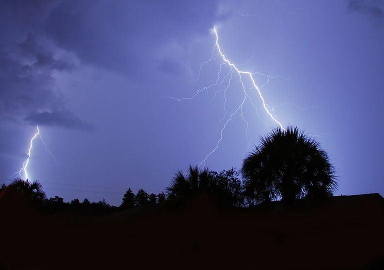 trueno tormenta