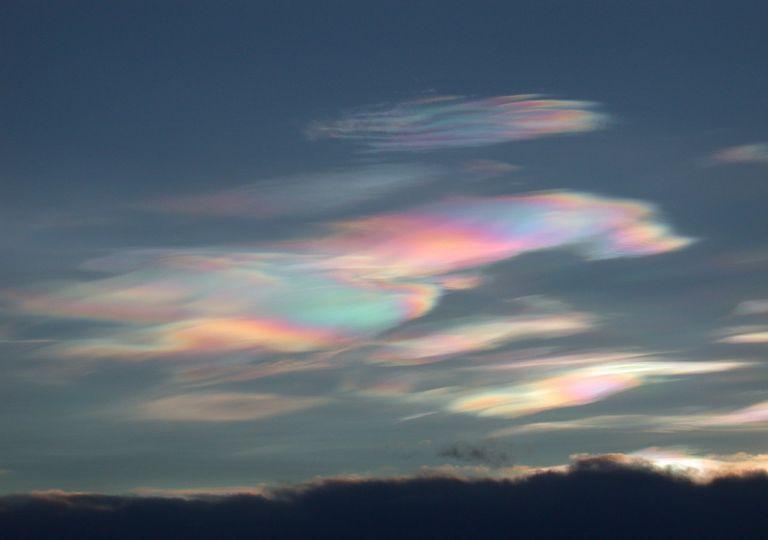 Nubes estratosféricas