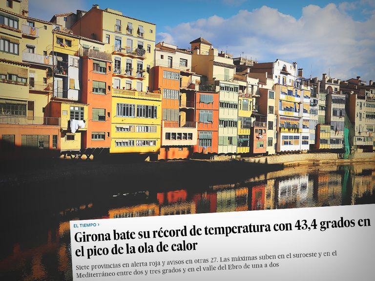 Girona calor