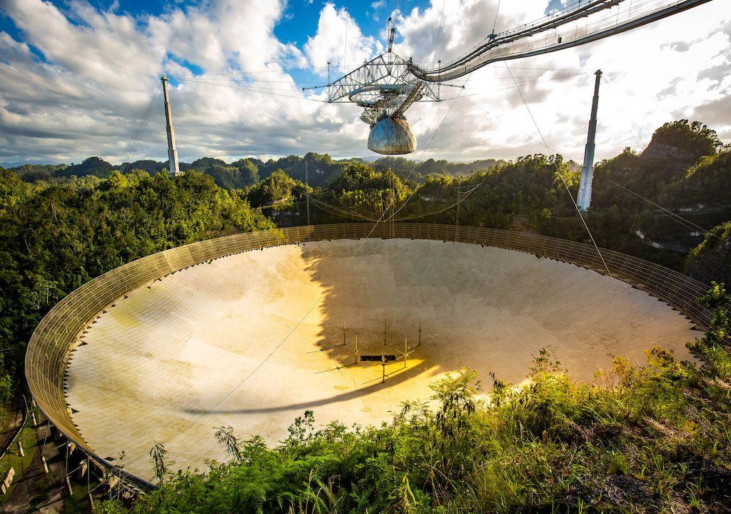 Radioteleskop in Arecibo