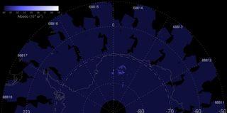 Se están formando las primeras nubes noctilucentes del sur