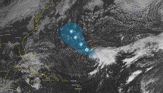 Se forma la tormenta tropical Epsilon: posible futuro huracán