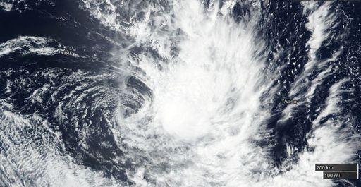 Se forma la tormenta tropical 12