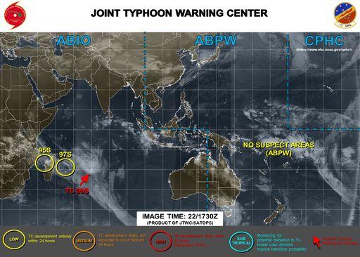 Se forma la tormenta tropical 9