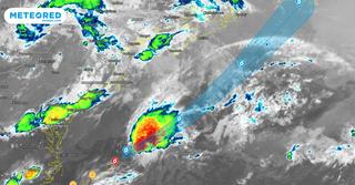 Se forma la tormenta tropical Bill en el Atlántico
