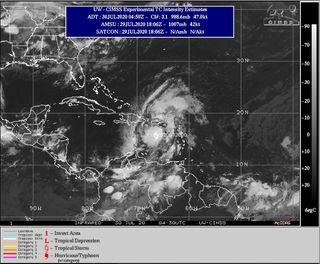 Se forma la tormenta tropical Isaías sobre el Caribe rumbo a Florida
