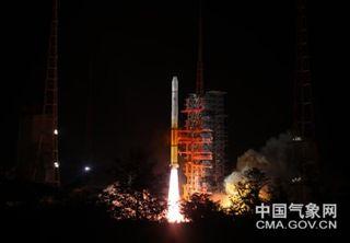 Se lanzó el satélite chino geoestacionario FY-2H