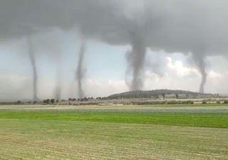 Cinco tornados simultâneos no México!