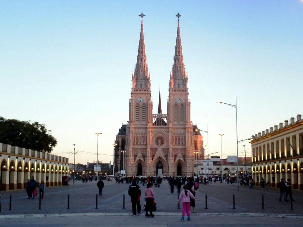 Peregrinación Luján Basílica Tiempo Pronóstico