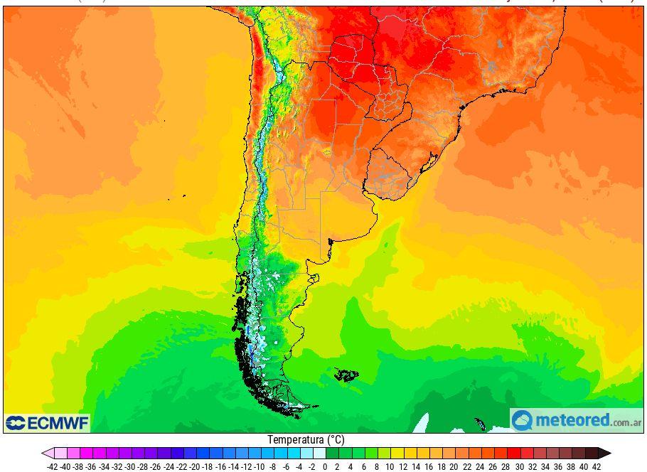 Temperaturas veranito de San Juan