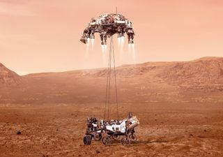 Sigue en vivo el aterrizaje de 'Perseverance' en Marte, ¡buscará vida!
