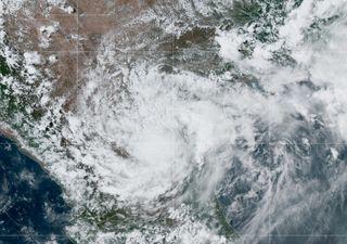 Seguimiento al ciclón Hanna sobre México