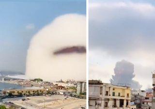 Seltenes Phänomen: Explosion in Beirut führt zur Wolkenbildung!