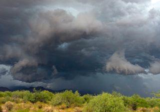 Semana agradable con algunas tormentas