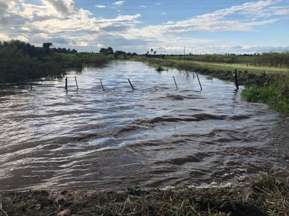 Inundaciones Chaco noreste lluvias Argentina
