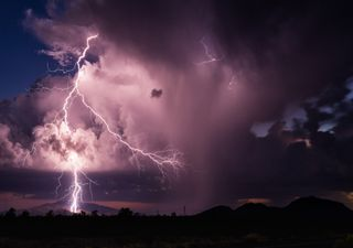 Semana con tormentas eléctricas en buena parte de México