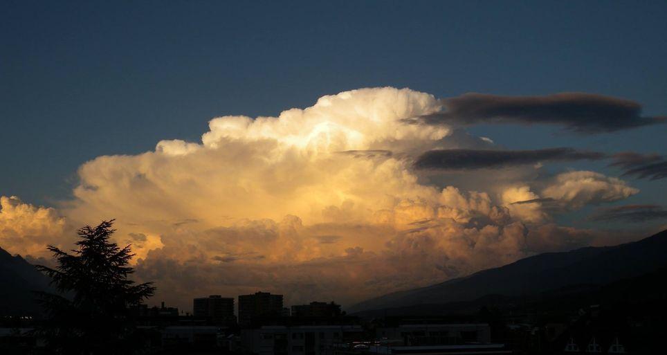 Nube convectiva. Eumetrain