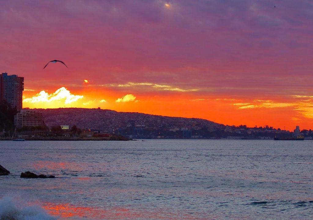 Arrebol; Viña del Mar; Valparaíso
