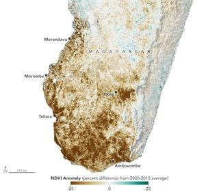 Sequía en Madagascar
