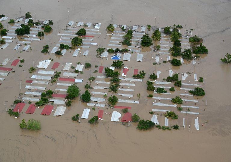 Severas inundaciones en Honduras tras el paso de 'Iota'
