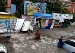 Schwere Überschwemmungen fordern mindestens 2 Tote!